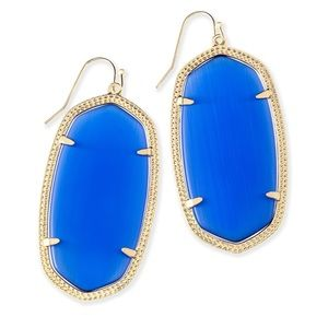 Kendra Scott Danielle Earrings In Cobalt